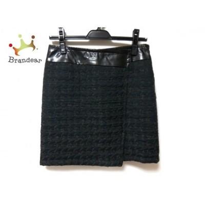 ピンキー&ダイアン Pinky&Dianne スカート サイズ38 M レディース 黒×グレー     スペシャル特価 20200304