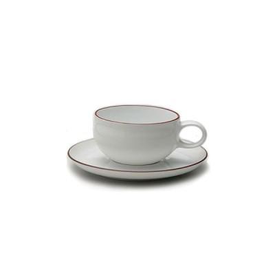 白山陶器 G型ティーカップ&ソーサー 白山陶器