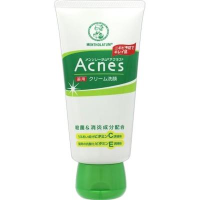 メンソレータム アクネス 薬用クリーム洗顔 130g