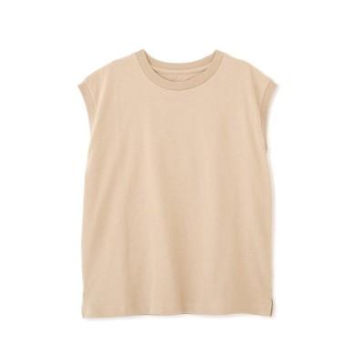 (FREE'S MART/フリーズマート)USAコットンフレンチクルーネックTシャツ/レディース ベージュ
