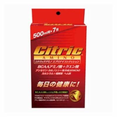 シトリックアミノ アミノ酸 クエン酸 エブリデイコンディション 6g×7包  Citric 8140