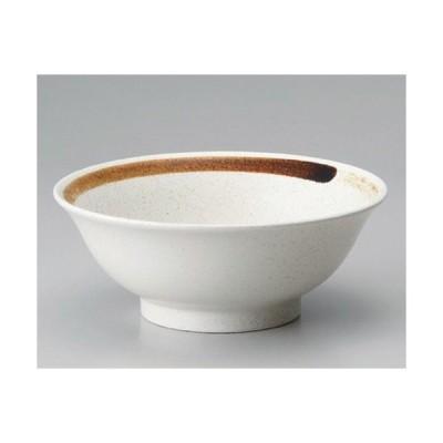 ☆ ラーメン鉢 ☆刷毛白21cm丼 [ 21.8 x 8.5cm 752g ] 【 ラーメン店 中華食器 飲食店 業務用 】