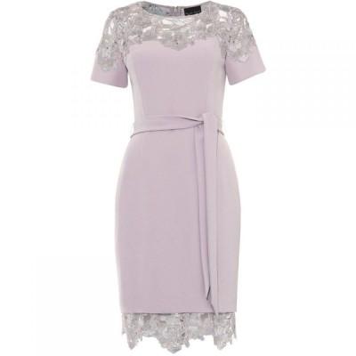 フェイズ エイト Phase Eight レディース パーティードレス ワンピース・ドレス Debora Guipure Lace Dress Mauve