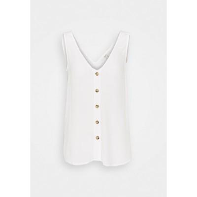 エスプリ カットソー レディース トップス MAROCIAN - Blouse - off white