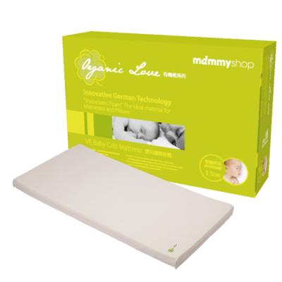 mammyshop 媽咪小站 有機棉嬰兒護脊床墊(3.5cm)