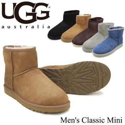 アグ UGG メンズ クラシックミニ Men's Classic Mini シープスキン ブーツ[DD]