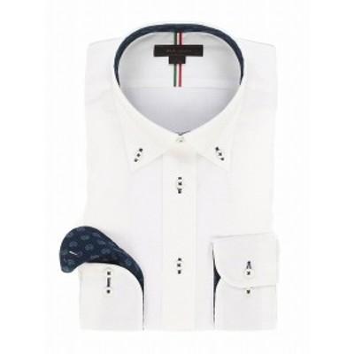 m.f.エディトリアル(m.f.editorial)/形態安定レギュラーフィット ボタンダウンテープ使い長袖シャツ