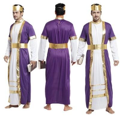 Men's   ハロウィン 衣装  国王   男性用 メンズ用  ハロウィーン 王様ハロウィン衣装 コスプレ衣装 コスチューム