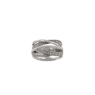 指輪 リング レディース シルバー キュービックジルコニア エステール プレゼント ご褒美 普段使い
