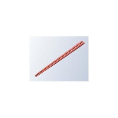 蝶プラ工業 EBM-8215600 【50個セット】金剛箸 21.5cm レッド PPS製 (EBM8215600)