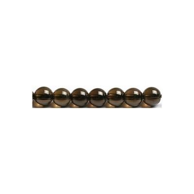 6mmチベットモリオン粒売りビーズ(Morion 天然黒水晶)