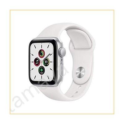 Apple Watch SE (GPS、40mm) - シルバーアルミニウムケース ホワイトスポーツバンド付き