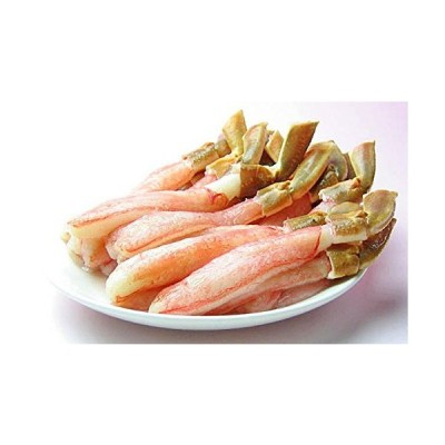 ズワイガニ脚むき身 (生冷凍) 500g (20本程度) お刺身、天ぷら、かにちり用出荷元:北海道四季工房