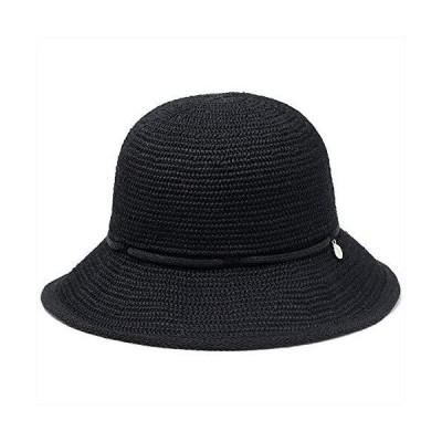 (ダックス) DAKS ハット ダウンハット 麦わら帽子 リネンハット リネン サーモハット ワイヤー 日本製 春夏 M (約5
