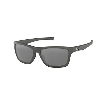 Oakley Holston OO9334 933411 58M Matte Dark Grey/Prizm Black Polarized Sunglasses For Men+BUNDLE with Oakley Accessory Leash Kit【並行輸