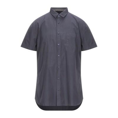 BOSS HUGO BOSS シャツ スチールグレー S コットン 100% シャツ