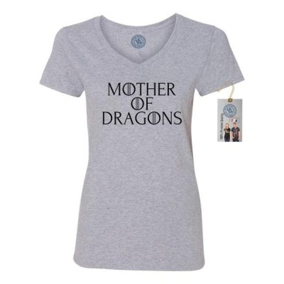 レディース 衣類 トップス Game of Thrones Mother of Dragons Womens V Neck ブラウス&シャツ