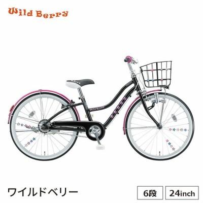 ワイルドベリー24 ブリヂストン 完全組立 外装6段 子供用自転車 wb461
