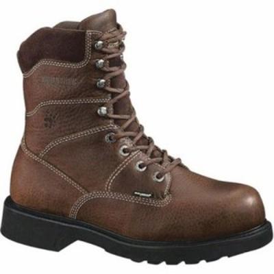 ウルヴァリン レインシューズ・長靴 Tremor 8 Durashocks Boot Brown