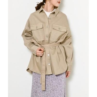SNIDEL / 【SNIDEL×Healthy DENIM】シャツジャケット WOMEN ジャケット/アウター > デニムジャケット