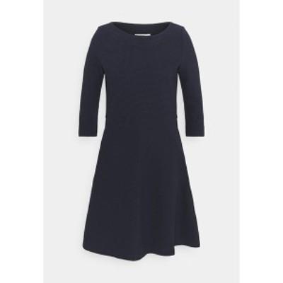 エスプリ レディース ワンピース トップス DRESS - Day dress - dark blue dark blue