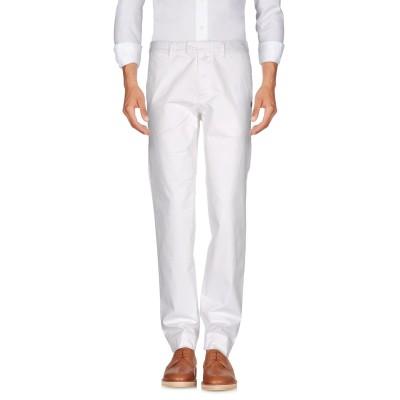 ブラウアー BLAUER パンツ ホワイト 31 コットン 97% / ポリウレタン 3% パンツ