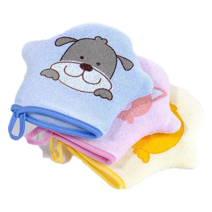 沐浴手套 沐浴海綿 卡通搓澡巾 兒童洗澡 洗澡手套 寶寶沐浴球 RA01253 沐浴棉