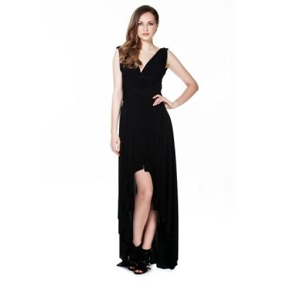 海外セレクション ドレス Women's High Low Maxi Dress Convertible Cocktail Gown Bridesmaid Dresses One