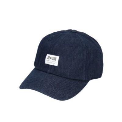 OVERRIDE / CN WH LABEL LOW CAP MEN 帽子 > キャップ