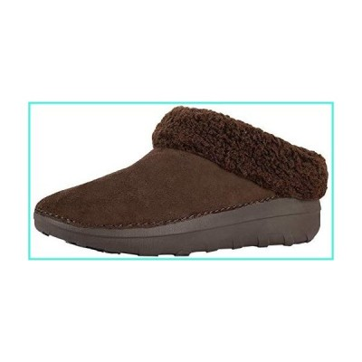 【新品】FitFlop Women's Loaff II Snug Slippers, Chocolate Brown, 6 M US(並行輸入品)