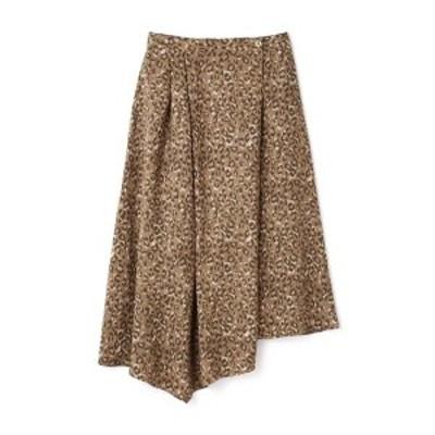ローズバッド(ROSE BUD)/イレギュラーヘムラインロングスカート