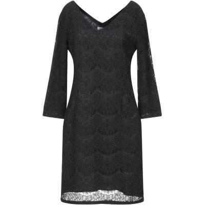 リュー ジョー LIU •JO ミニワンピース&ドレス ブラック XS コットン 40% / ナイロン 35% / レーヨン 25% ミニワンピース