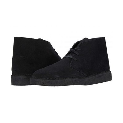 Clarks クラークス メンズ 男性用 シューズ 靴 ブーツ チャッカブーツ Desert Coal - Black Suede