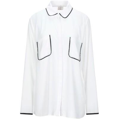 EMMA & GAIA シャツ アイボリー 48 ポリエステル 100% シャツ