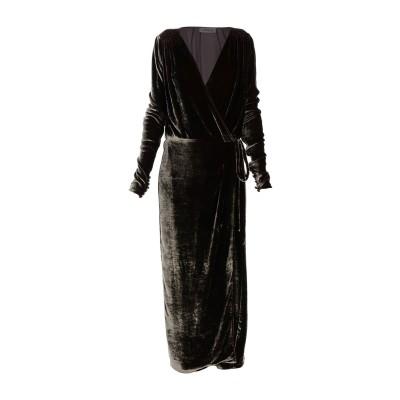 アティコ THE ATTICO 7分丈ワンピース・ドレス カーキ 2 82% レーヨン 18% シルク 7分丈ワンピース・ドレス