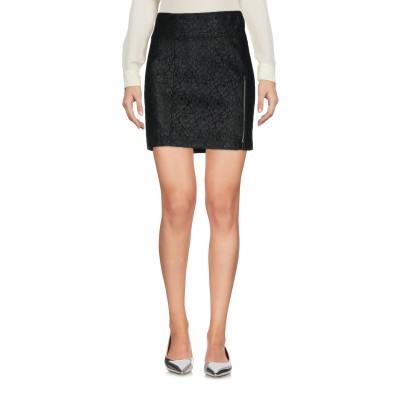 ベルスタッフ BELSTAFF ミニスカート ブラック 40 コットン 51% / ナイロン 49% ミニスカート