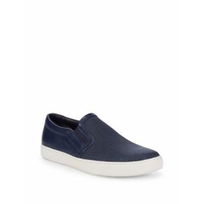ヴィンス メンズ スニーカー Slip-On Leather Sneakers