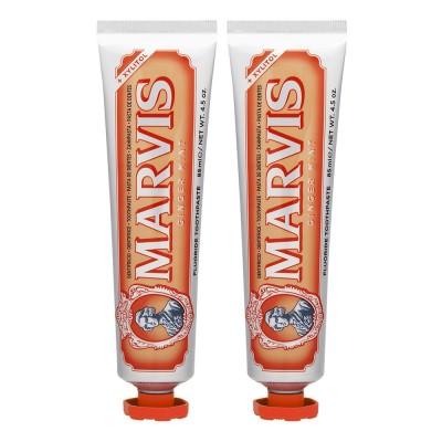 マービス MARVIS トゥースペースト (ジンジャーミント) 85ml×2本(170ml)
