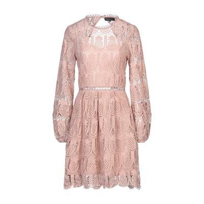 VANESSA SCOTT ミニワンピース&ドレス ピンク S ポリエステル 100% ミニワンピース&ドレス