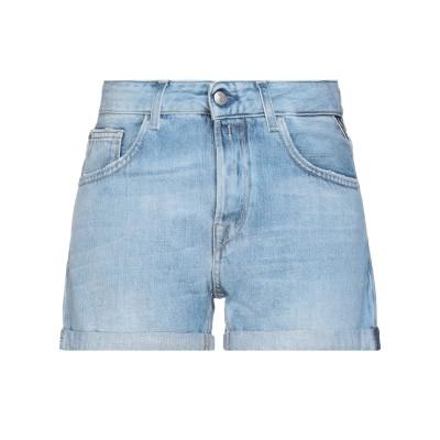リプレイ REPLAY デニムショートパンツ ブルー 26 コットン 100% デニムショートパンツ