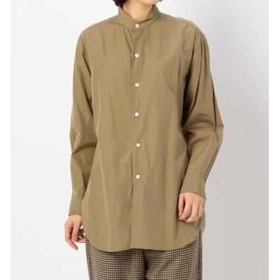 【ビショップ/Bshop】 【KAPTAIN SUNSHINE】フィンクスウェザー スタンドカラーシャツ WOMEN