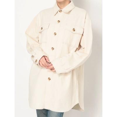 【公式】Ungrid(アングリッド)ツイルビッグルーズシャツ