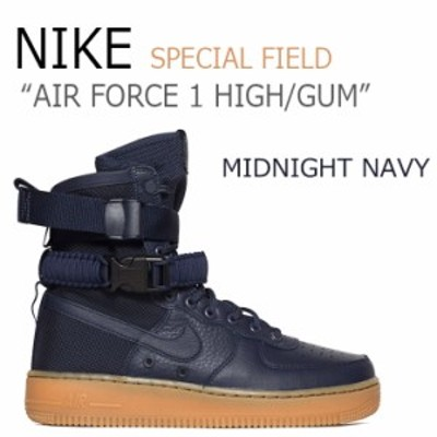 ナイキ スニーカー NIKE メンズ レディース AIR FORCE 1 HIGH スペシャルフィールド エア フォース1 ネイビー ガム 864024-400 シューズ