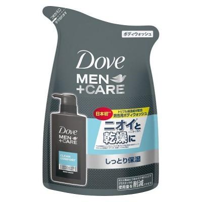 Dove MEN(ダヴメン)+ケア ボディウォッシュ メンズ しっとり保湿 クリーンコンフォート 詰め替え 320g ユニリーバ