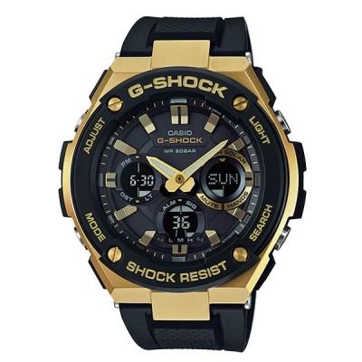 G-SHOCK Gショック G-STEEL Gスチール カシオ CASIO ソーラー アナデジ 腕時計 ブラック ゴールド GST-S100G-1A 逆輸入海外モデル
