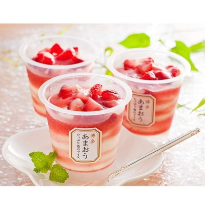 送料無料 博多あまおう たっぷり 苺のアイス ( 7個 )メーカー直送 母の日 ybk-A-AT