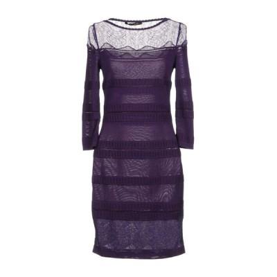 ROBERTO CAVALLI チューブドレス  レディースファッション  ドレス、ブライダル  パーティドレス パープル