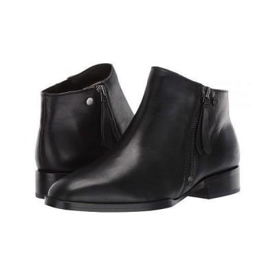 Naturalizer ナチュラライザー レディース 女性用 シューズ 靴 ブーツ アンクルブーツ ショート 27 Edit Carter - Black Leather