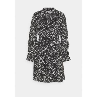 セレクテッドフェム ワンピース レディース トップス SLFLIVIA SHORT DRESS - Day dress - black