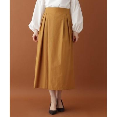 DRESSTERIOR(Ladies)(ドレステリア(レディース)) アシンメトリータックハイウエストスカート